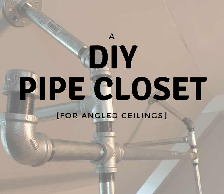A DIY Pipe Closet At Our Cary Fixer-Upper