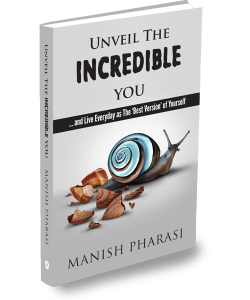 Cover of Manish Pharasi Book Unveil the Incredible you