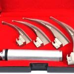 Laryngoscope 4 Curved Blades