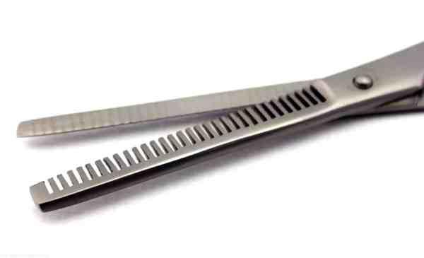 hairdressing scissor black ring17.1