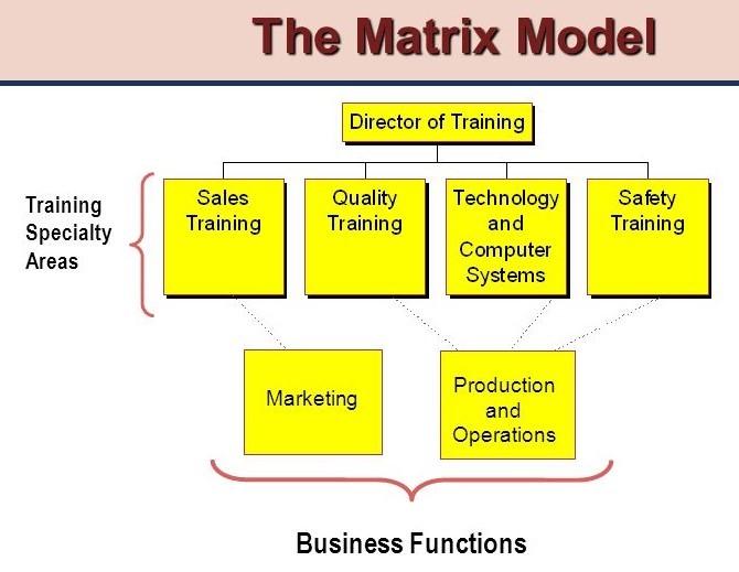 TOPIC 9.3 THE MATRIX MODEL
