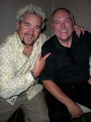 Guy Fieri and Frank Forth