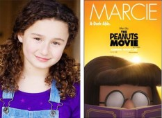 Rebecca Bloom is Marcie in The Peanuts Movie