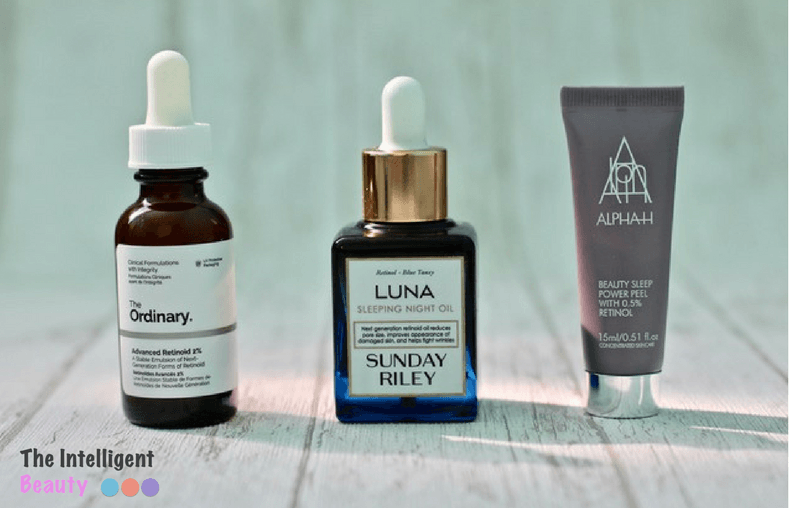 Review: Mis productos con Retinol