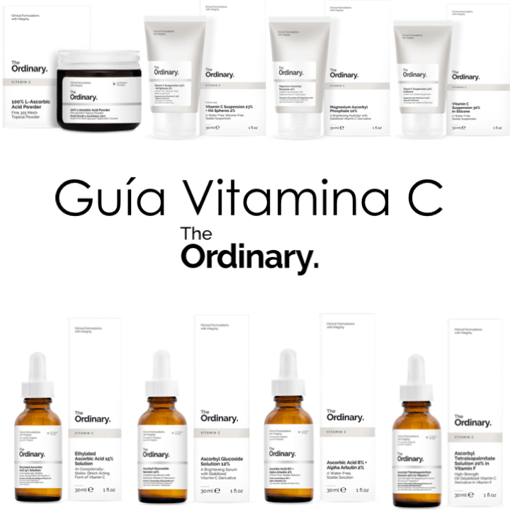 The Ordinary: Guía de Vitamina C