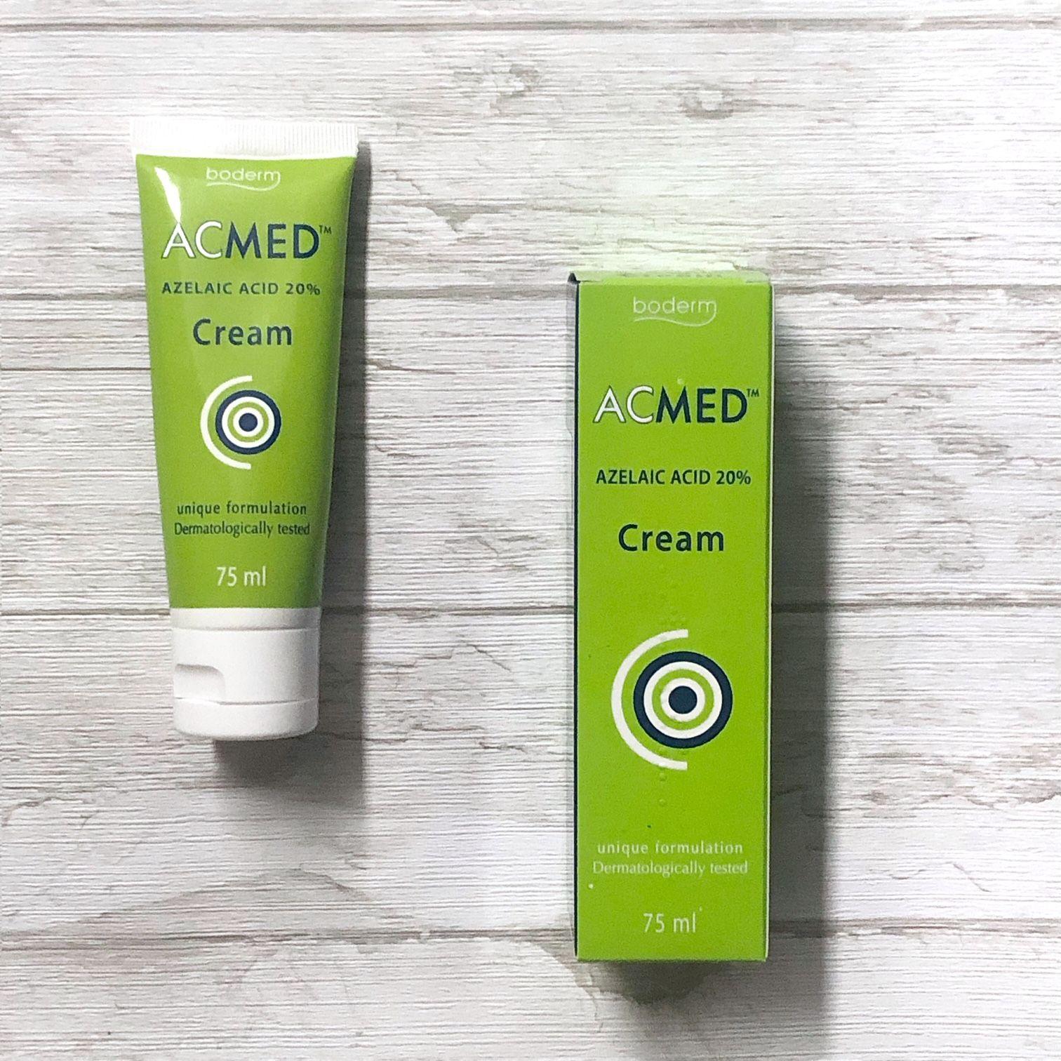 Acmed: Crema con 20% de Ácido Azelaico