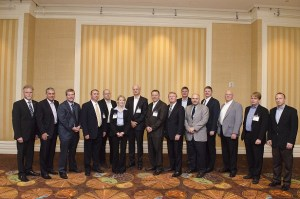 Participants at the Mining Magazine Industry Leader's Roundtable 2012