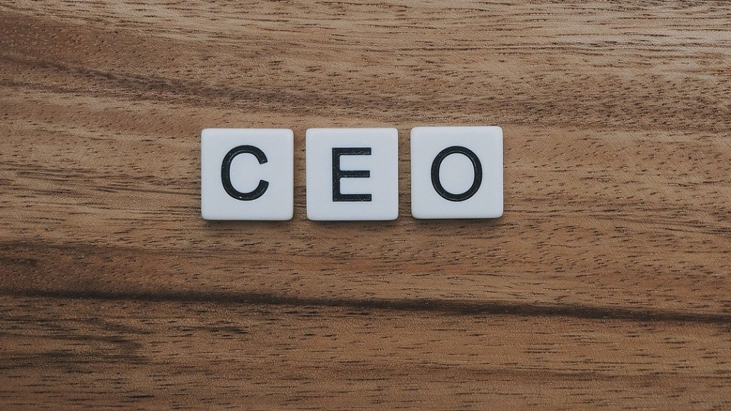 CEO Scrabble tiles. Image: Pixabay