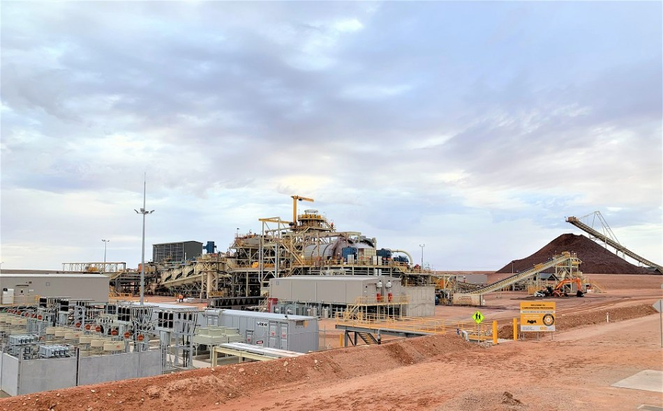 Modularity can be applied to any step in the value chain; loaders and trucks are already modular, as are processing plants at the section or equipment level. This photo shows the plant at OZ Minerals' Carrapateena site. Image: OZ Minerals