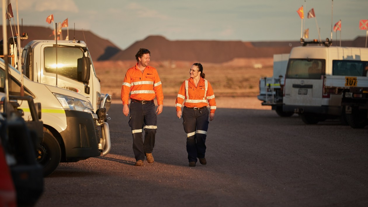 The Scalable & Adaptable Challenge will use a satellite deposit at OZ Minerals' Prominent Hill mine in South Australia as the case study. Image: OZ Minerals