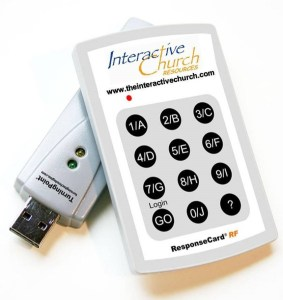 ICR Key pad and drive with website