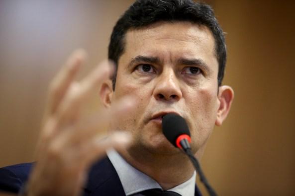 Justice Minister Sergio Moro Presents Anticrime Protect