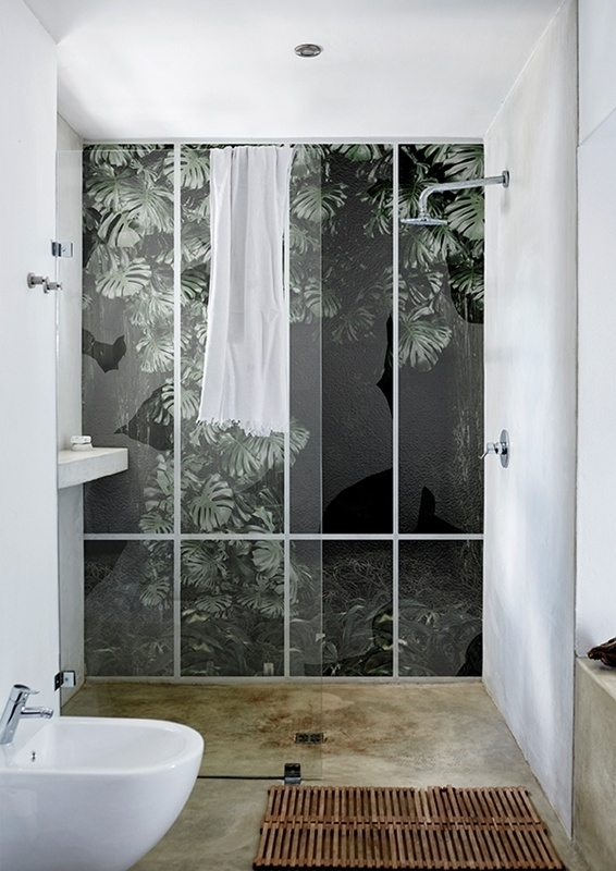 Alternatives To Tiling Your Bathrooms Waterproof Wallcoverings - Alternative to tiles in shower cubicle