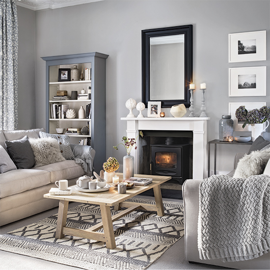 gray themed living room how to use texture amp colour the interior editor 15087