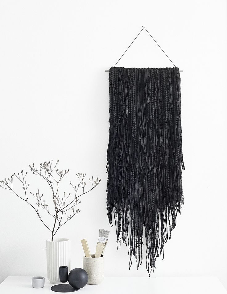 ADD TEXTURE TO YOUR WALLS WITH DECORATIVE WALL HANGINGS | The wonderfully reinvented boho macrame decorative wall hangings today are beautiful textured works of art to be admired and are visually tactile pieces
