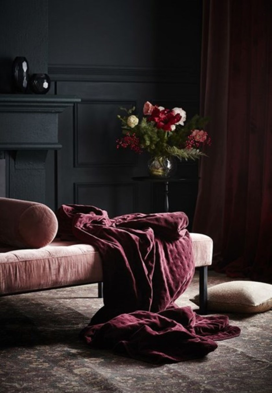 The Big Velvet Home Trend