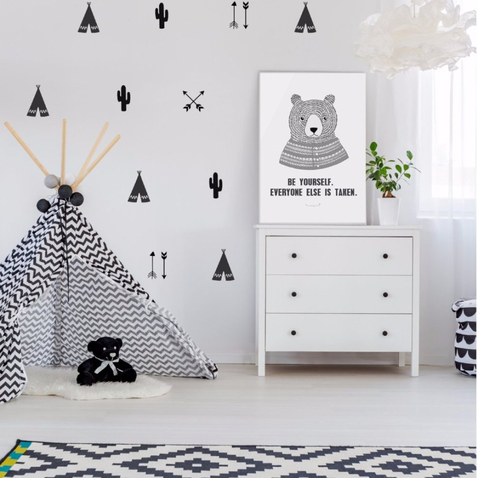Wall Stickers - Quick & Easy Children\'s Bedroom Decor - The Interior ...