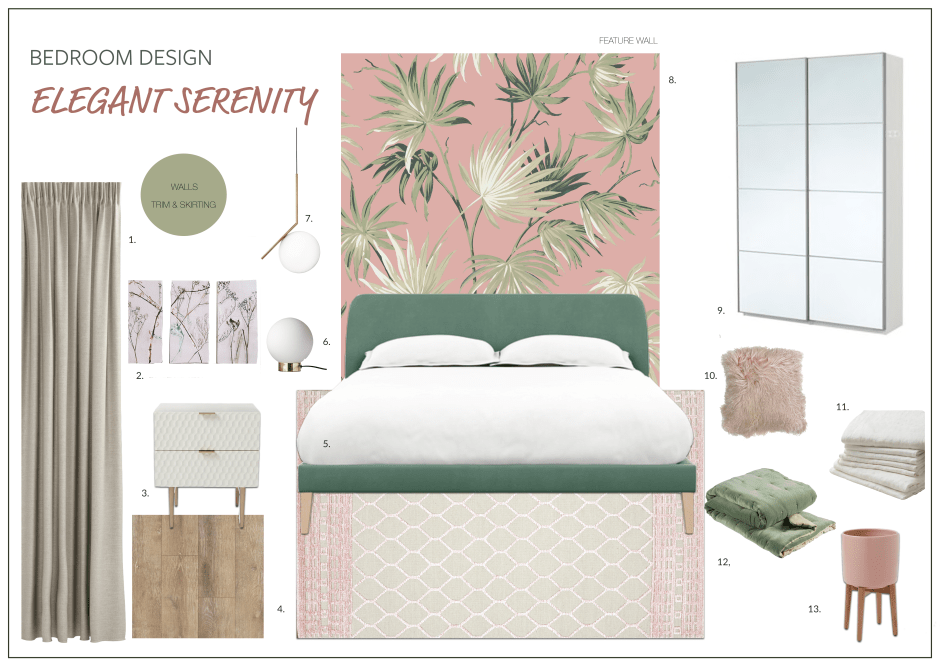 Bedroom Redesign Surprise Update & Mood Board Inspiration!