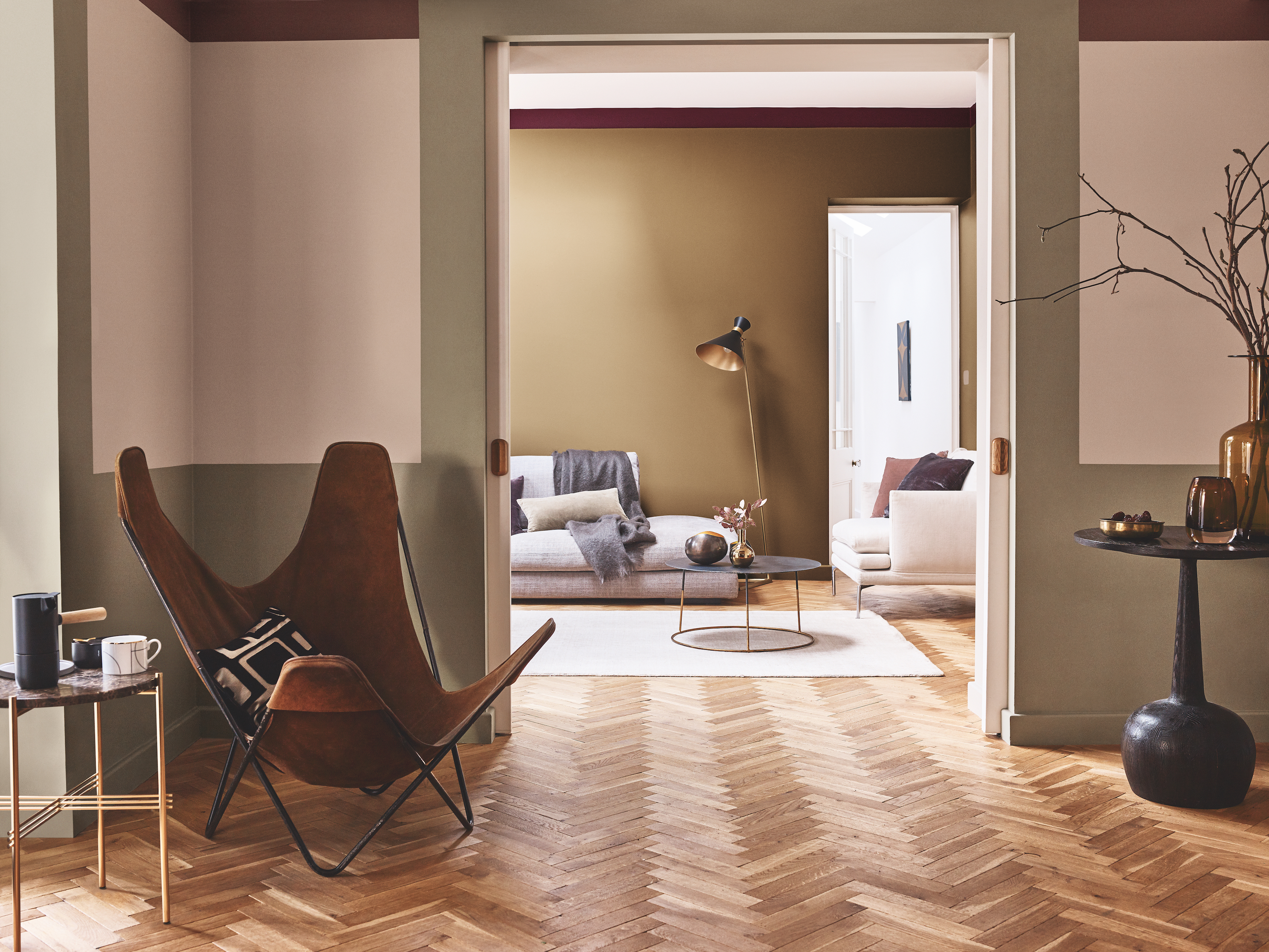 How To Use Spiced Honey Dulux S Colour Of The Year 2019 The