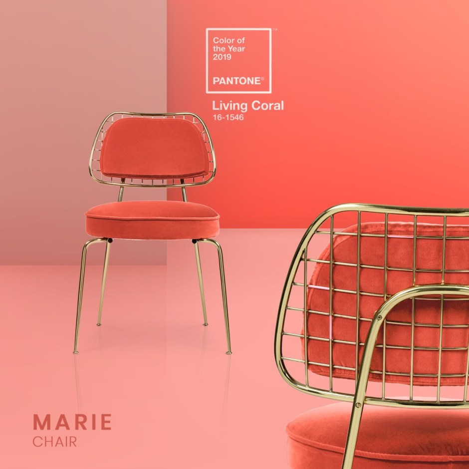 How To Use Living Coral - Pantone's Colour Of The Year 2019 | Colour trends are something to consider when decorating our homes. They offer us the chance to rethink and assess our decor choices and consider new possibilities.