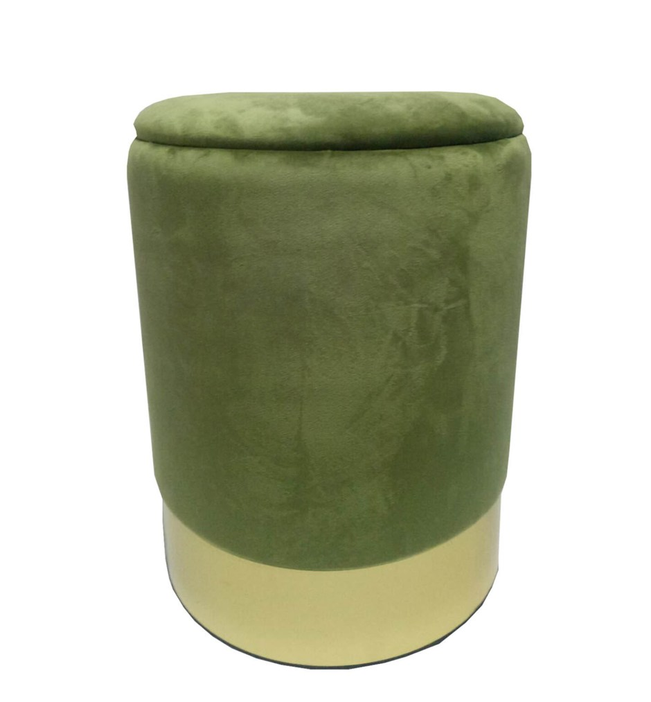 Affordable On-Trend ​Velvet Furniture From Sue Ryder | On trend velvet footstool in green velvet from Sue Ryder as part of their affordable velvet furniture collection. All profits go towards the Sue Ryder charity.