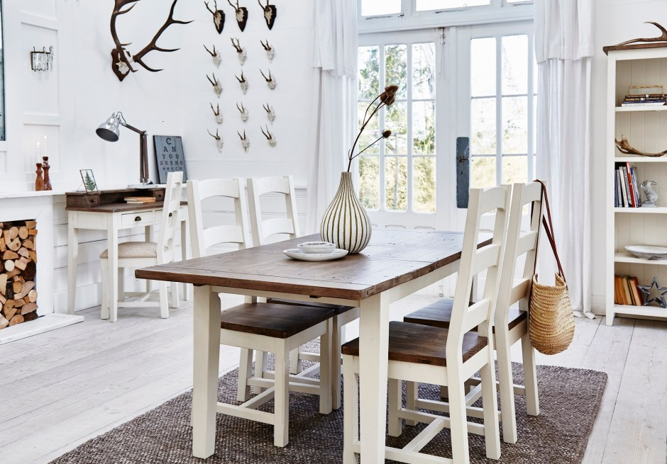How To Choose The Perfect Dining Table For Your Home | Reclaimed wood dining table from Modish Living.