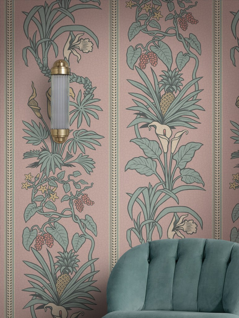 Divine Savages & Natural History Museum collaboration  Botanize Heritage wallpaper is the museums first ever wallpaper collection