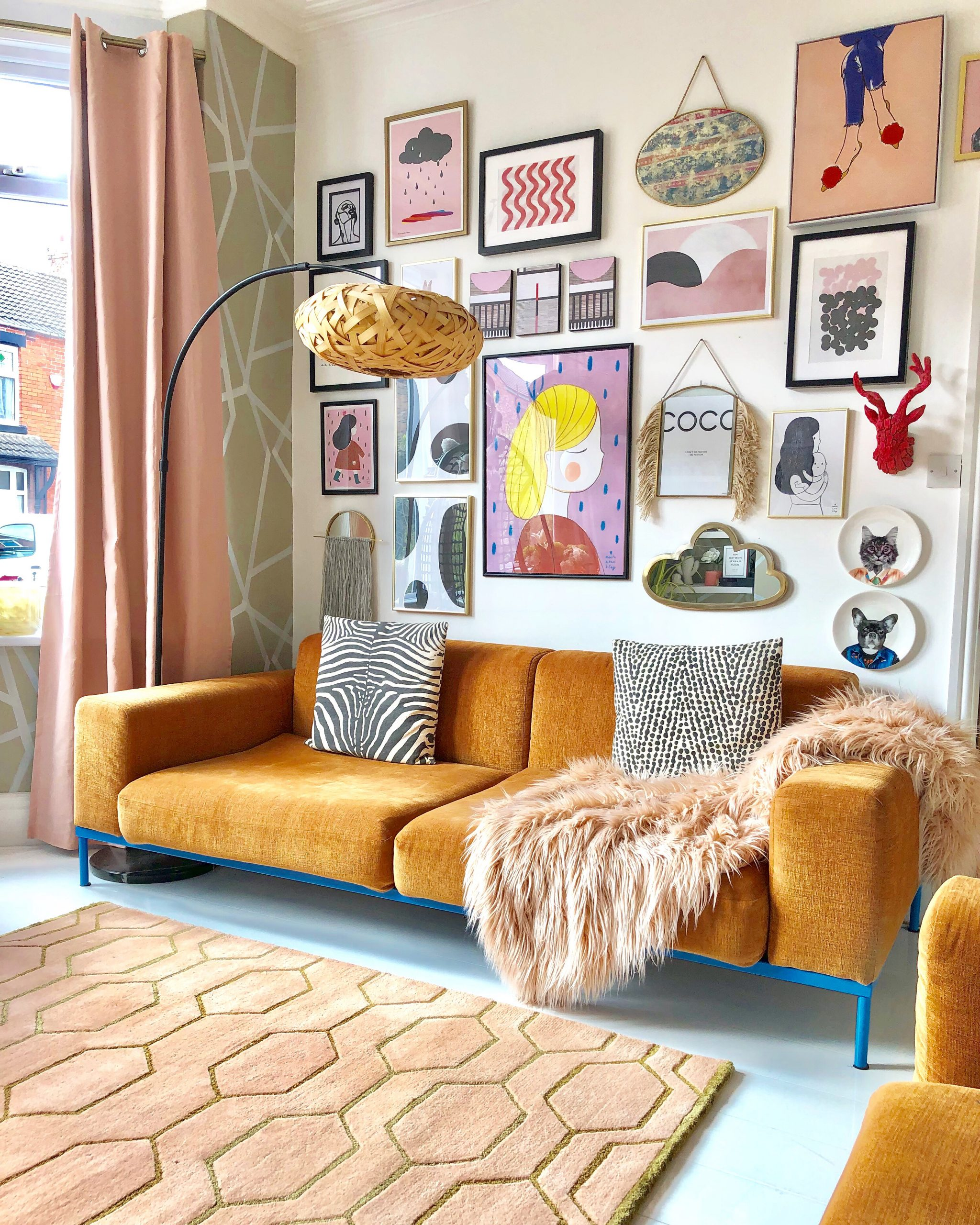 The Artful Play Of Pattern Eclectic Decor Sarah Hubbard The Interior Editor