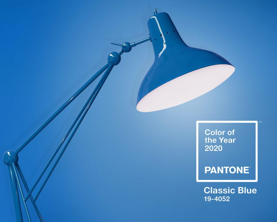 How To Use Classic Blue - Pantone's Colour Of The Year 2020 | Diana Floor lamp in classic blue