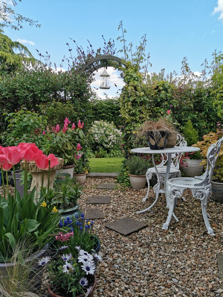 The Rustic Modern & Eclectic Home of Furniture Upcycler - Gareth Young | picturesque English garden