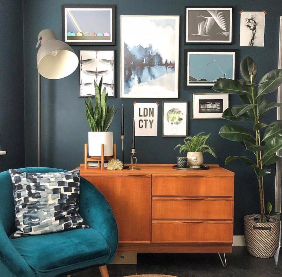 Karina Mansfield - Minimalist Pop Art For Your Homes   gallery wall including Karina Mansfield art designs
