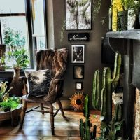 The Bohemian, Dark & Inviting Home of Nadia Martini