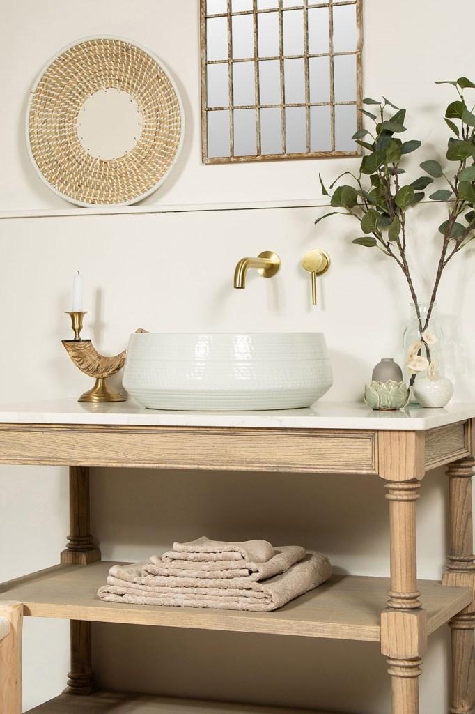 CLAUDIA White Porcelain Handmade Countertop Wash Basin Sink - The Way We Live London