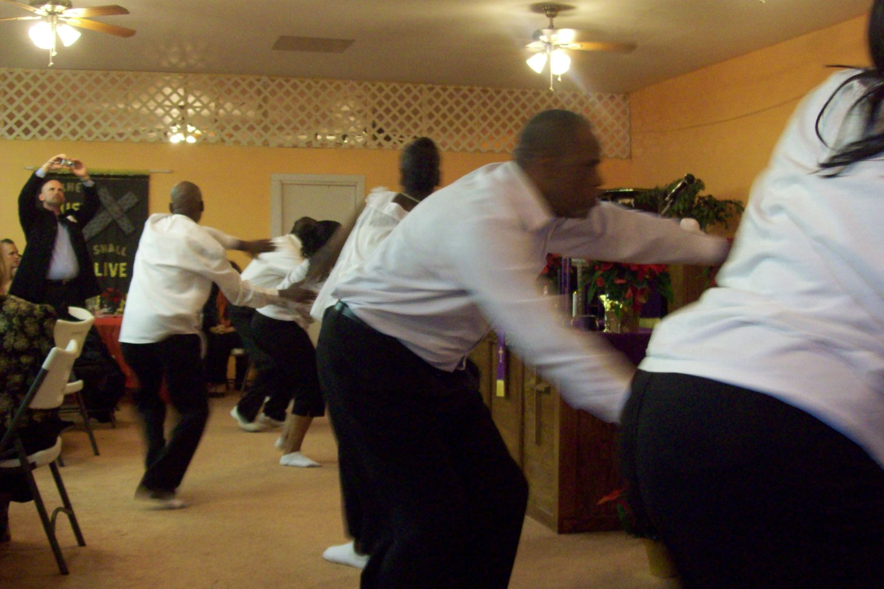Praise Dance at DISC 12th Anniversary Party