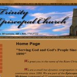 Trinity Episcopal Church Website Design