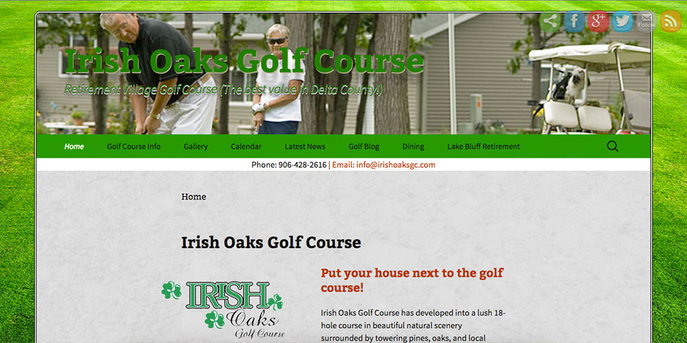 Irish Oaks Golf Course