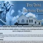 First Trinity Methodist Church Website Design