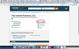 The Internet Presence review on InsiderPages