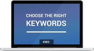 Choose the right keywords for your keyword research.