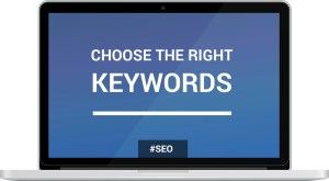 Choose the right keywords for keyword research.