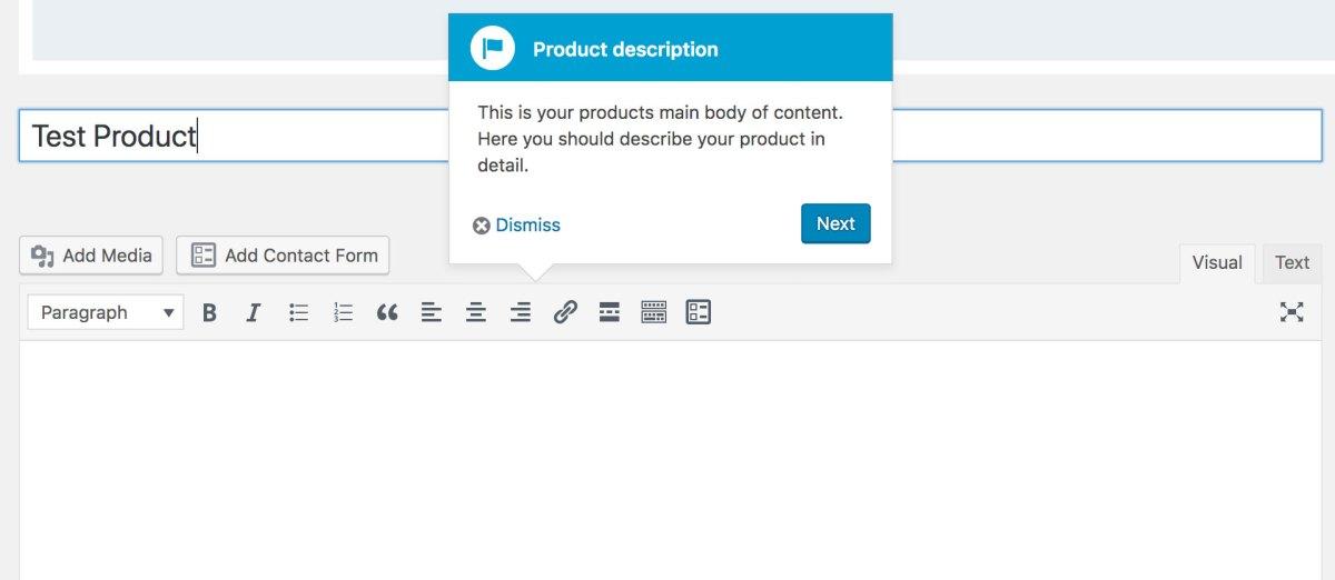 WooCommerce Product Description