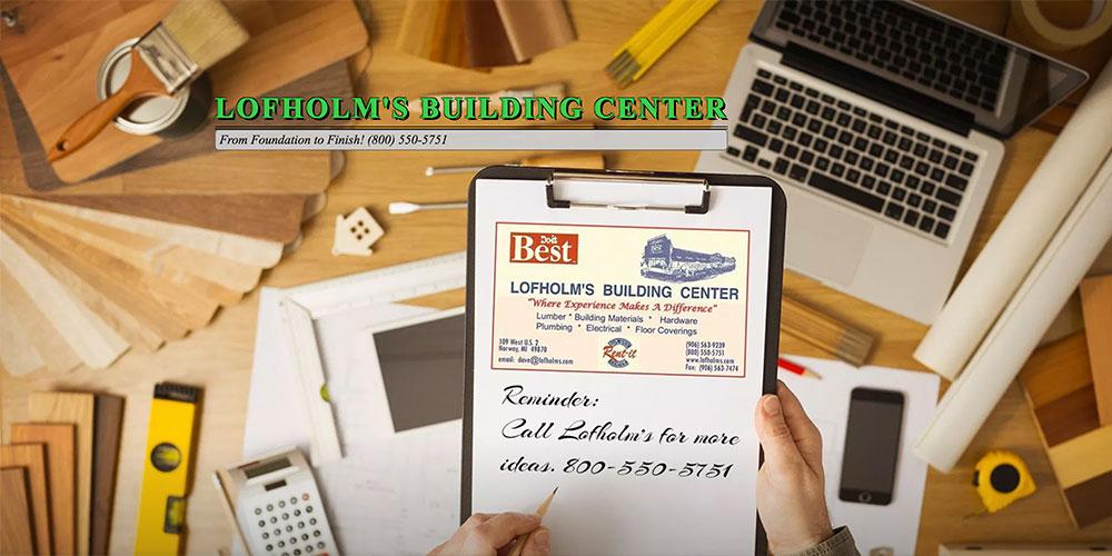 Lofholm's Building Center