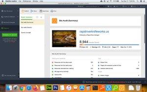 Screenshot of the Seo Powersuite Website Auditor Full Reports