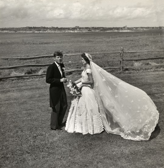 The famous Kennedy Wedding