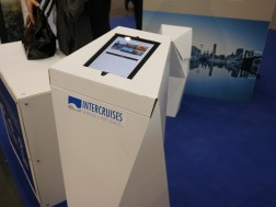 The InterQuiz was playable on the stand