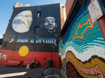 Newtown - Sydney's trendiest district and home to the the Music & Art Festival