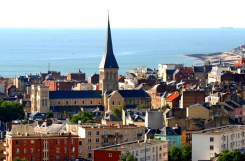 Le Havre is a dizzying mix of old & modern architecture