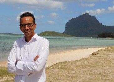 Patrice at Le Morne World Heritage Site