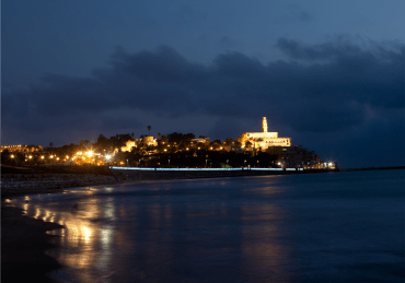 Jaffa at night