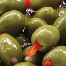 A happy olive at Harrods